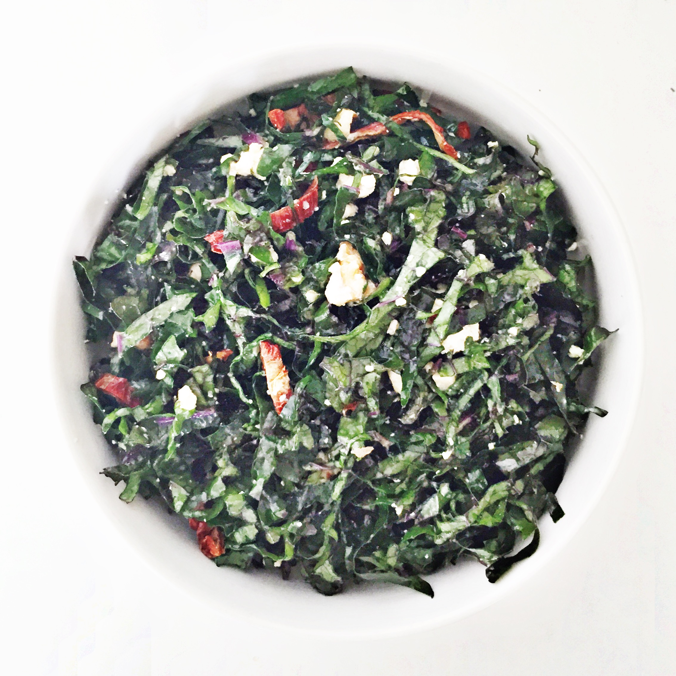 angelica's kale salad - Clean Food Dirty City