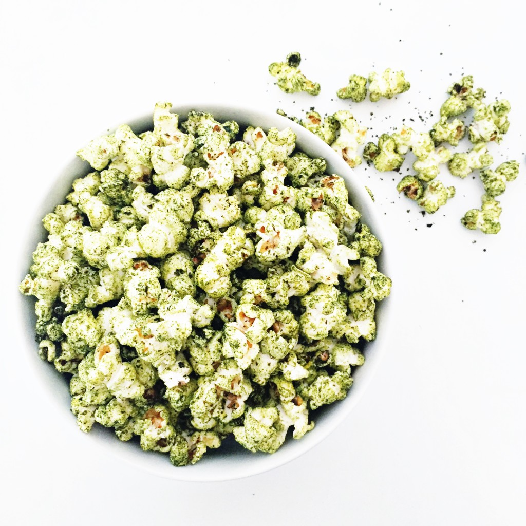 spirulina herbal popcorn