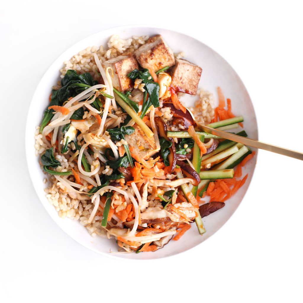 bibimbap from the lucky rice cookbook