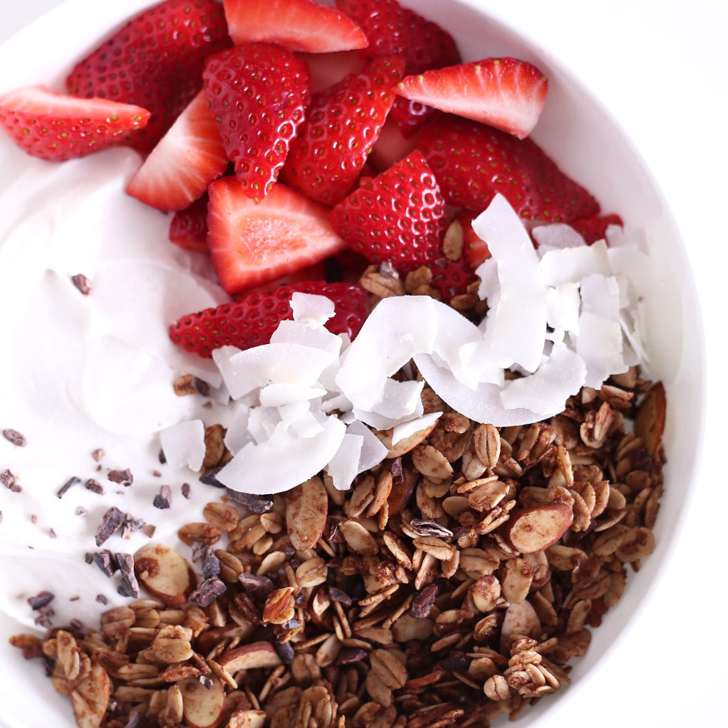 cacao superfood granola