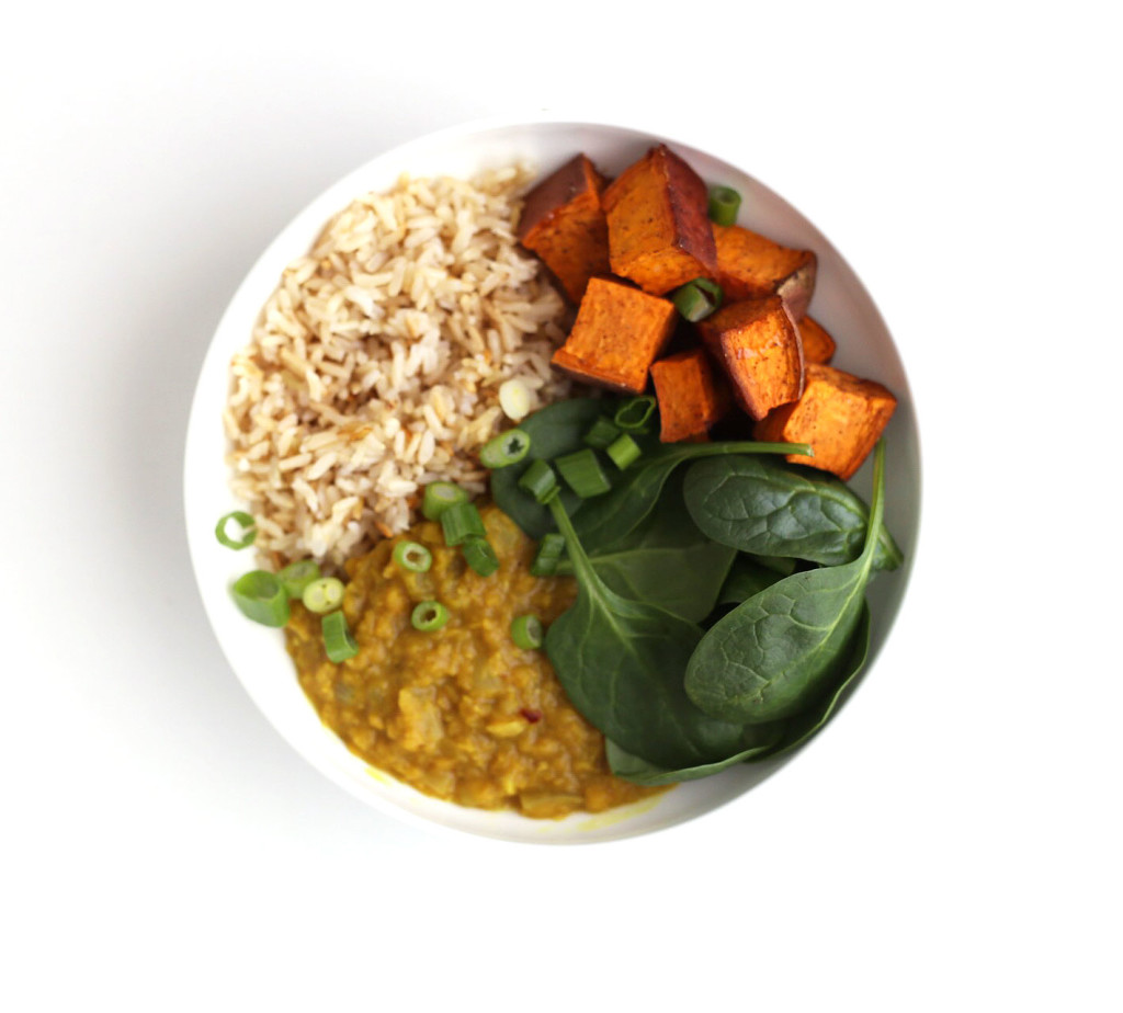 Easy Indian Style Daal And Rice Bowls Clean Food Dirty City