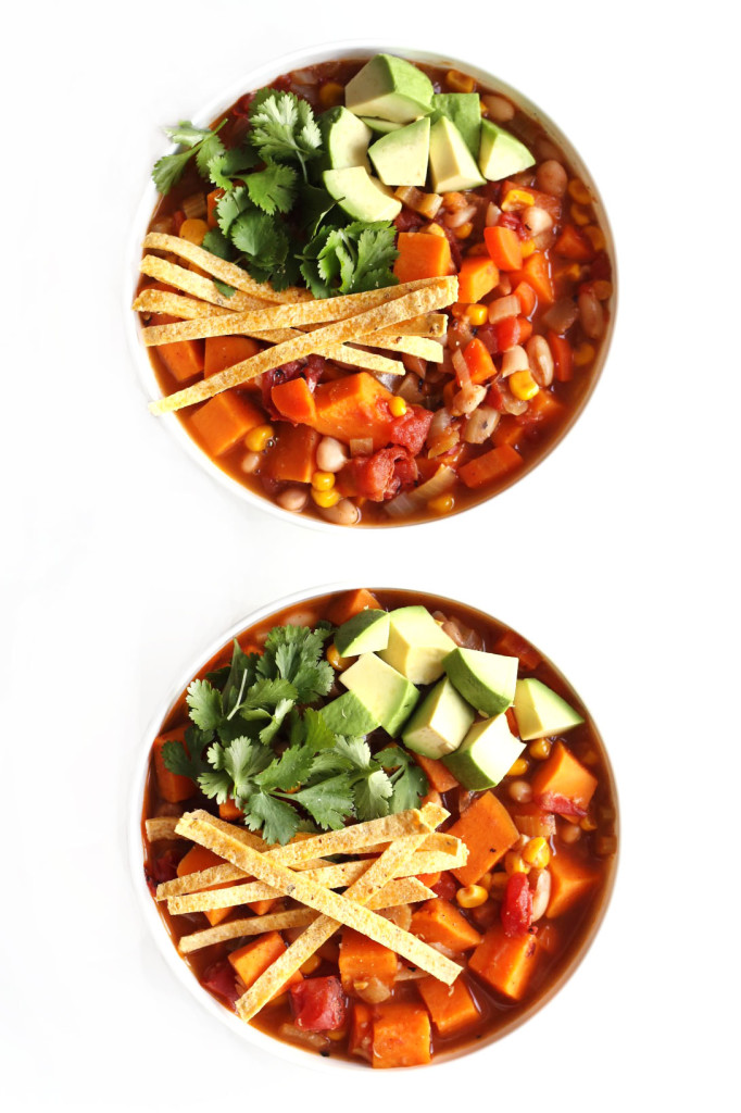 white bean vegetarian chili