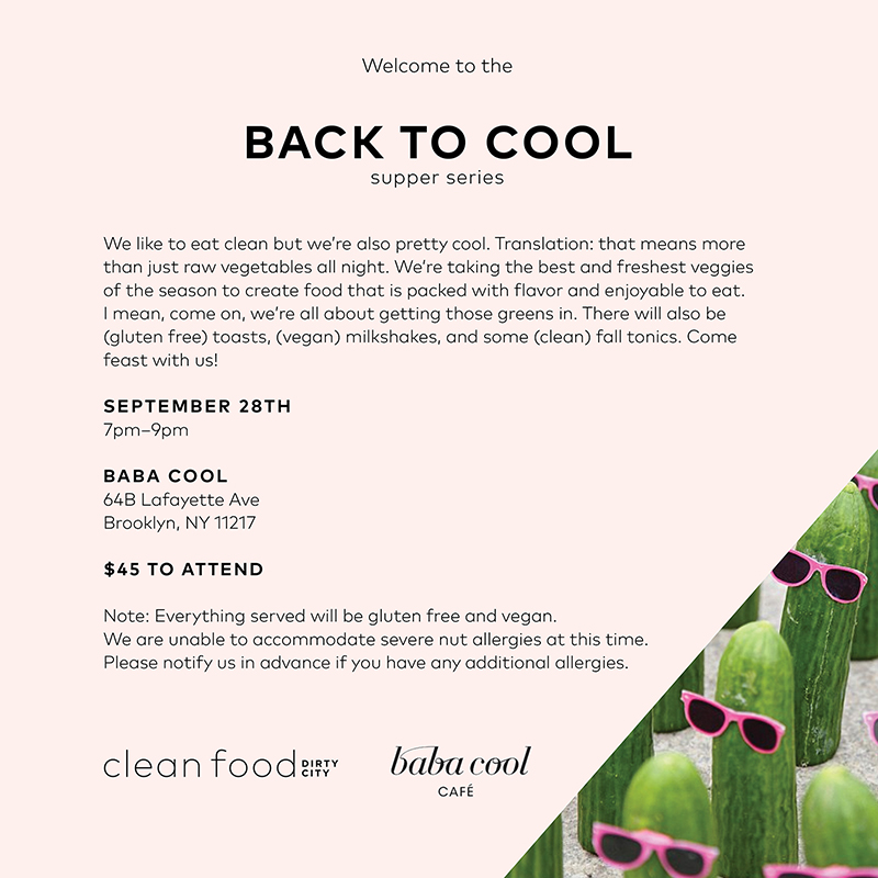 Back to Cool Supper Club -