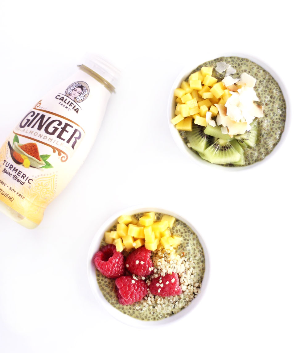 easy chia pudding recipe // clean food dirty city